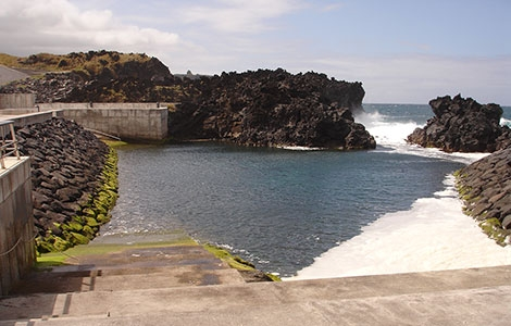 Zona Balnear dos Poços -  Piscina natural - São Miguel Açores
